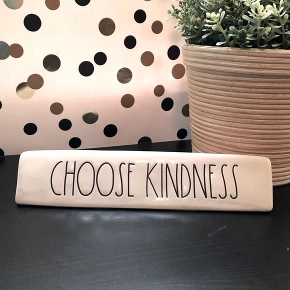 Rae Dunn CHOOSE KINDNESS desk plaque